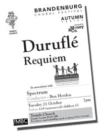 The Duruflé Requiem Performed by Spectrum Conductor - Ben Horden