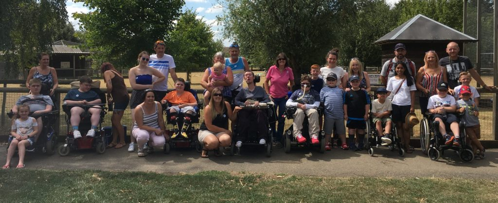 Group photo of Duchenne Families cropped
