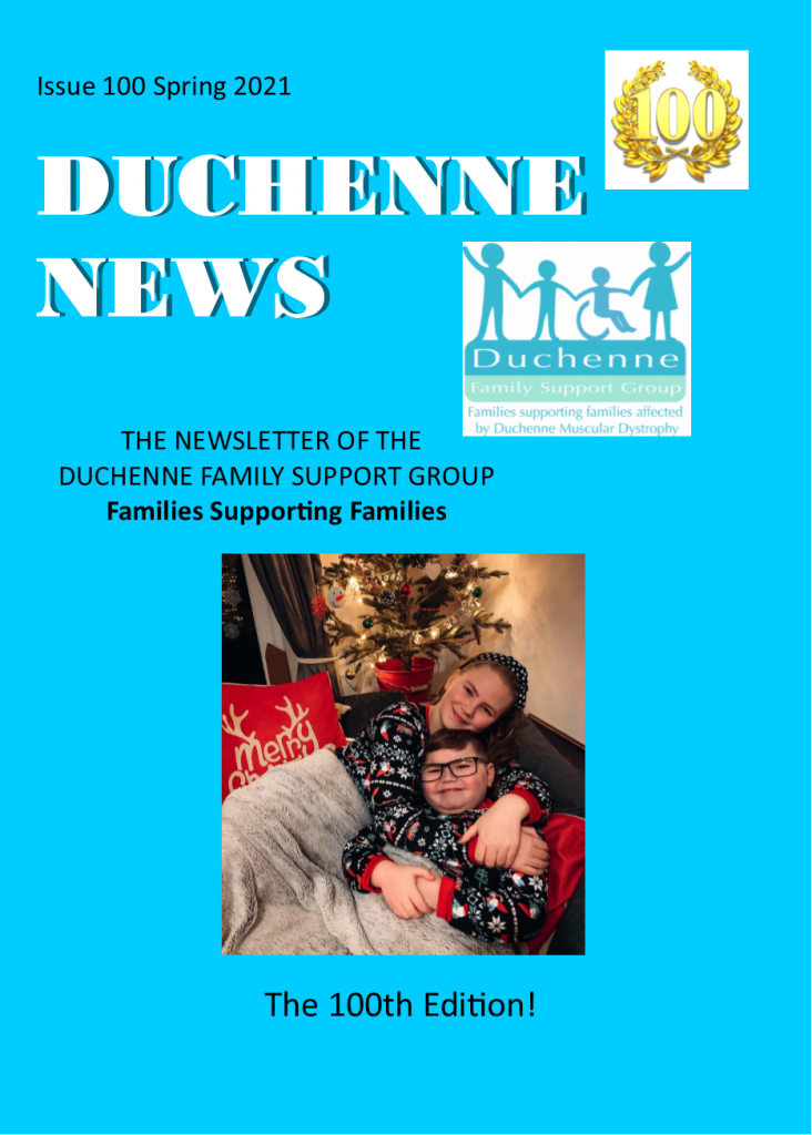 Front cover image for Duchenne Newsletter