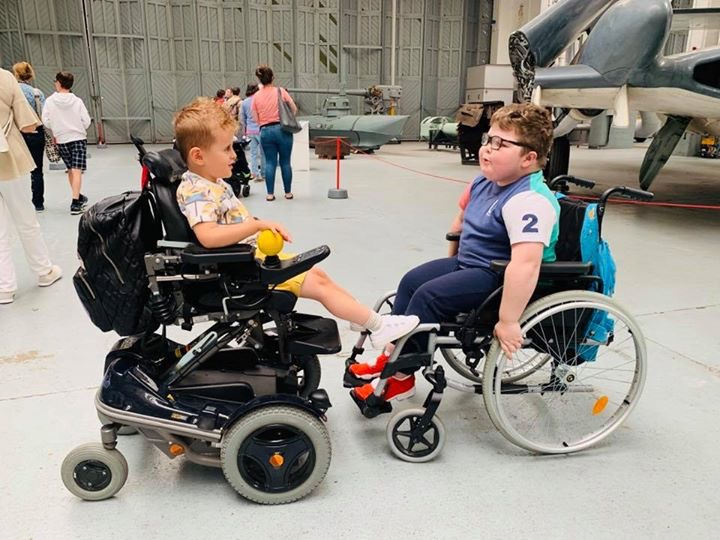 Picture of Boys at Duxford