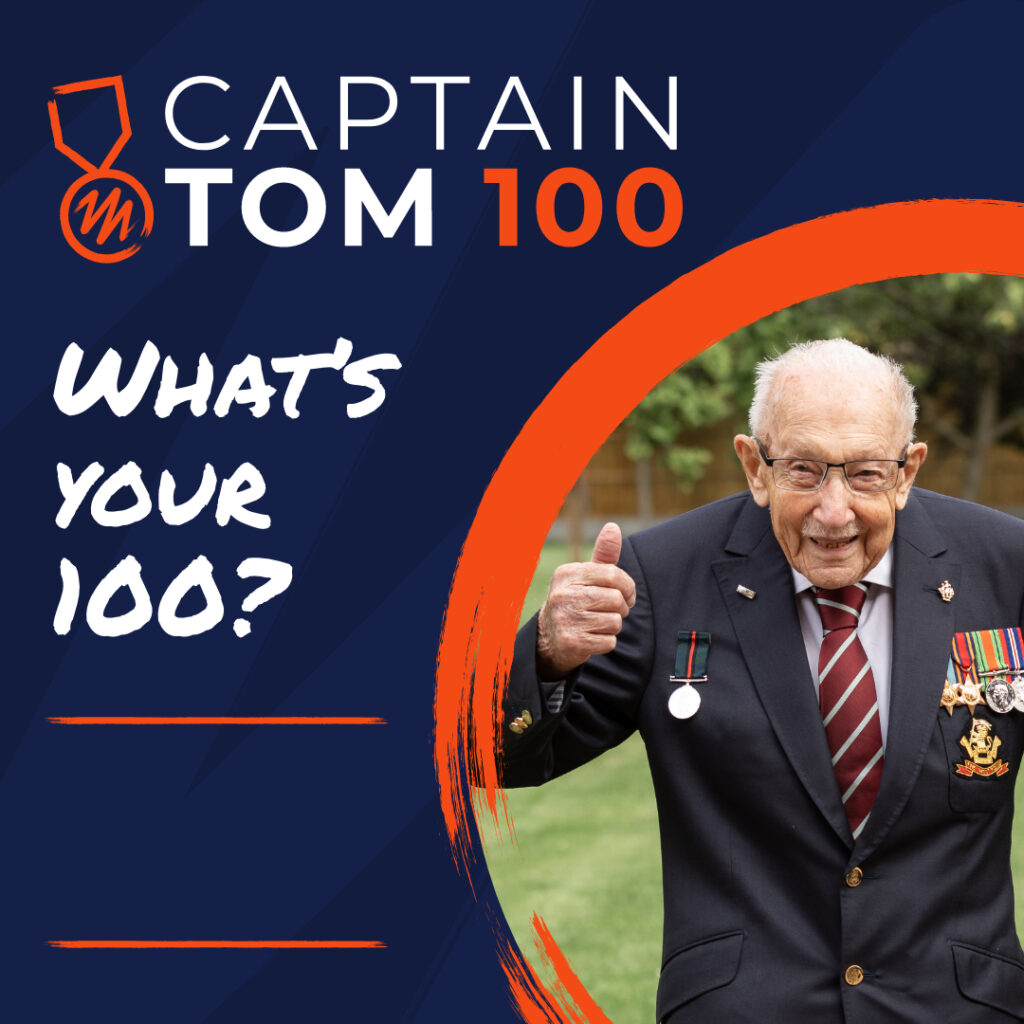 Captain Tom Fundraising Logo